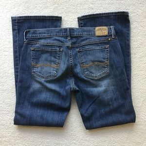 LUCKY BRAND 8/29 SWEET n LOW BLUE JEANS